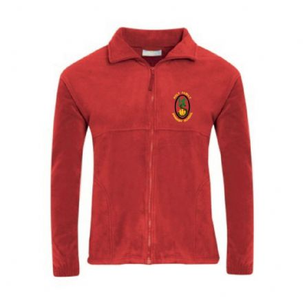 Holy Family Primary Red Fleece
